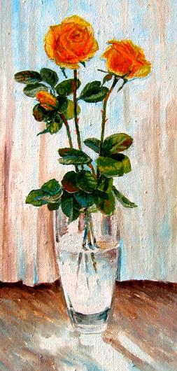 рисунки цветов,александр григорьев,розы